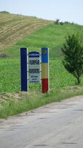 Intrarea în Comuna Vurpăr - jud. Sibiu