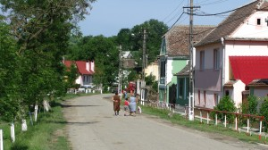 Vedere din Comuna Vurpăr, județul Sibiu