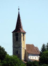 Comuna Vurpăr Biserica Fortificată sec.XIII