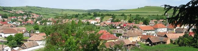 Vedere panoramică - Vurpăr, jud. Sibiu